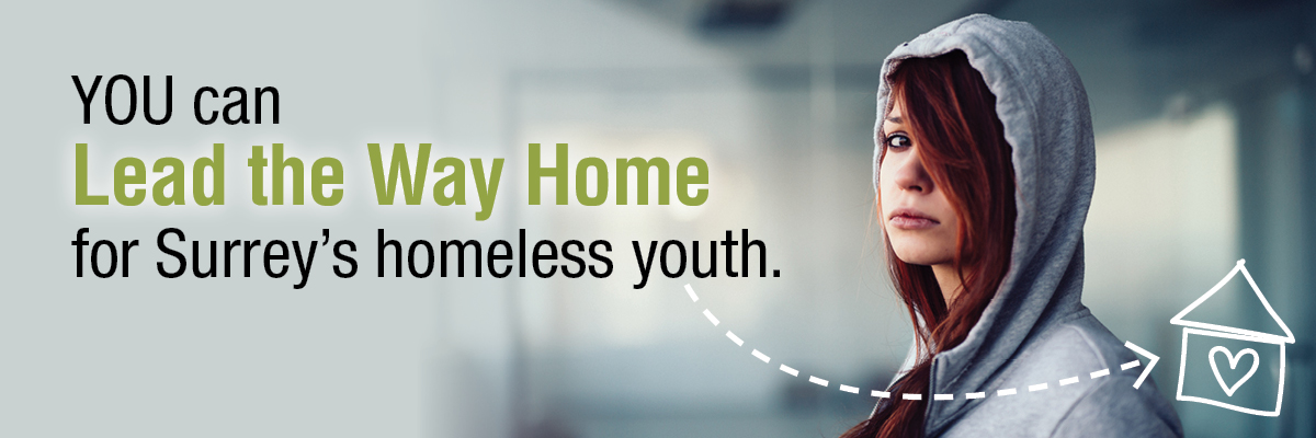 Leading the Way Home for Surrey's Homeless Youth